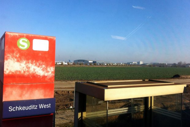 S-Bahn-Haltepunkt Schkeuditz-West. Foto: Michael Freitag