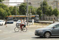 Verkehr am Rossplatz. Foto: Ralf Julke