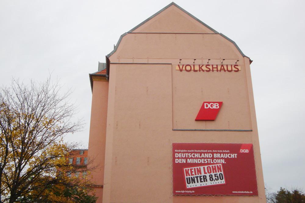 Volkshaus in der Karl-Liebknecht-Straße. Foto: L-IZ.de