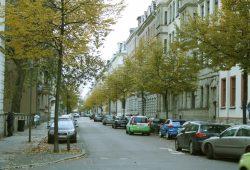 Im Waldstraßenviertel. Foto: Ralf Julke