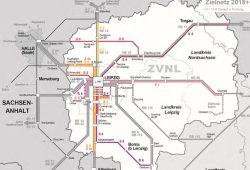 Das Zielnetz 2018+. Karte: ZVNL