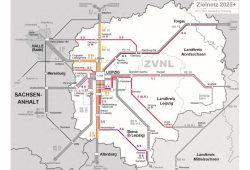 Zielnetz 2025+ des ZVNL. Karte: ZVNL