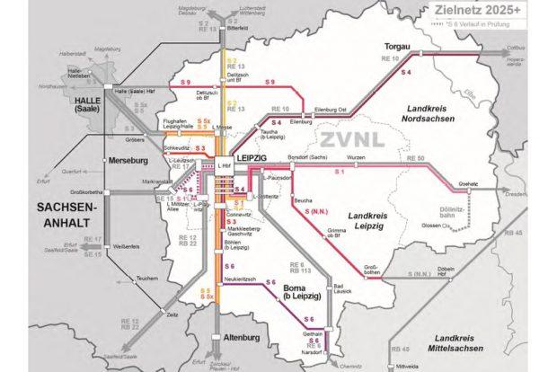 Leipziger Internet Zeitung Wenn Das Mitteldeutsche S Bahn Netz