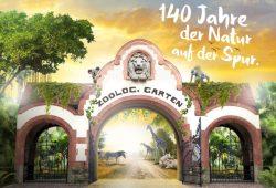 Plakat zumJubiläums-Jahr. Grafik: Zoo Leipzig