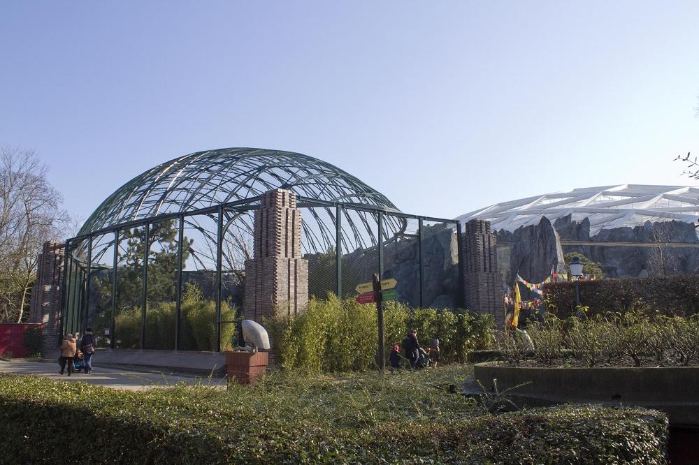 08 Historische Voliere fertiggestellt © Zoo Leipzig