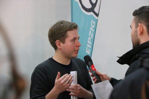Auf Debattentour: Kevin Kühnert sucht die Sachebene. Foto: Michael Freitag