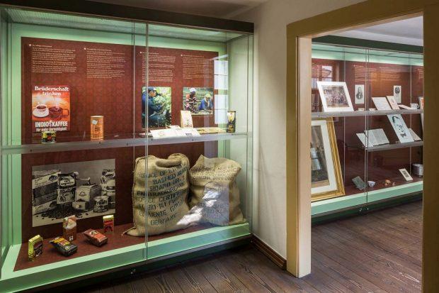 Ausstellungsteil Fair Trade. Foto: Coffe Bau/Franke