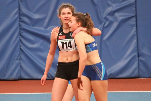 """Annika Niedermayer (60m Hürden): """"Die DM-Teilnahme war für mich etwas ganz besonderes und ein schöner Nervenkitzel"""". Foto: Jan Kaefer (Archiv)"""