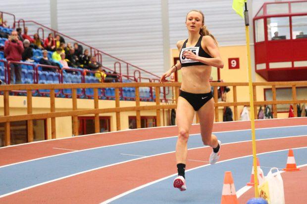 """Julia Klein (1.500m): """"Der 6. Platz ist letztlich ein versöhnlicher Abschluss der Hallensaison"""". Foto: Jan Kaefer (Archiv)"""