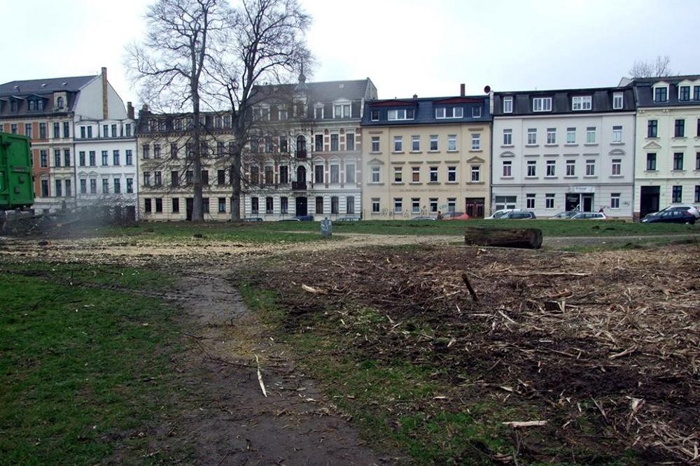 Der Leopoldpark ist nicht mehr. Foto: Frau Schneider