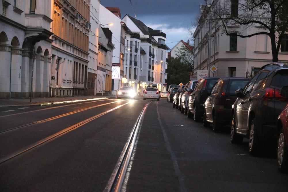 Die Georg-Schwarz-Straße in Leutzsch. Foto: LZ