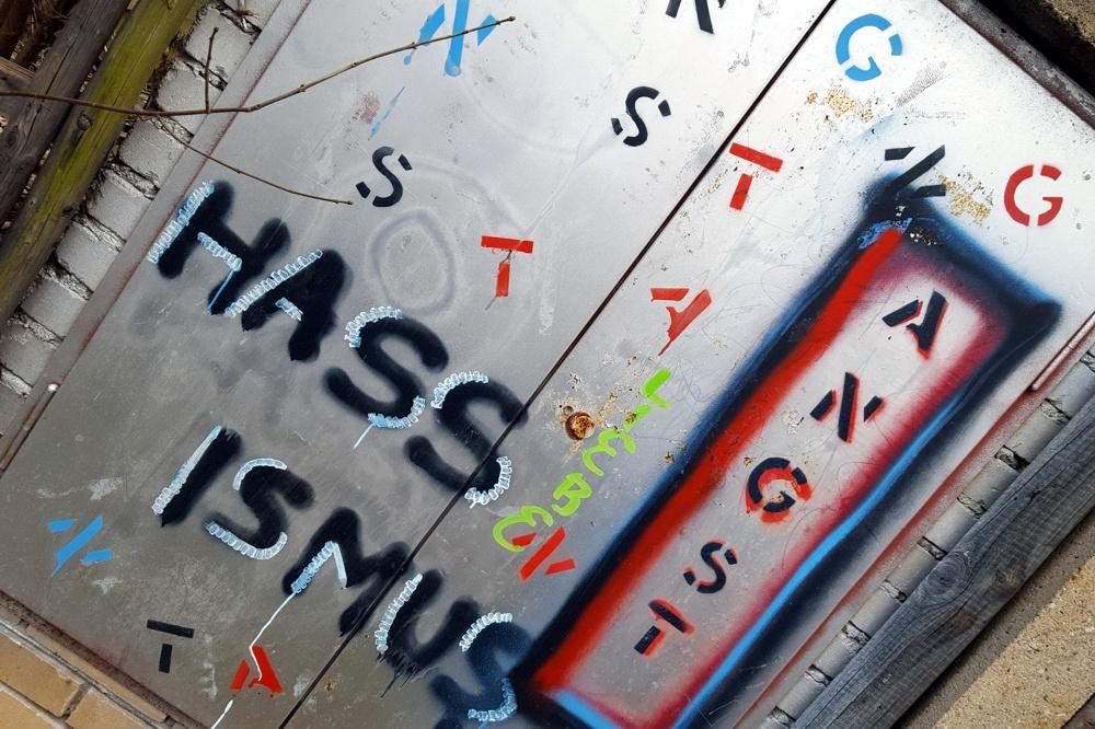 Hassismus für alle, aus Angst geboren. Foto: L-IZ.de