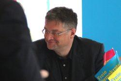 """Holger Zastrow, Vorsitzender der FDP Sachsen beim """"Dreikönigstreffen"""" in Döbeln. Foto: Michael Freitag"""