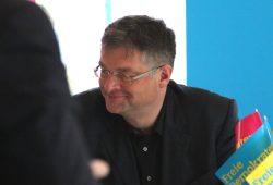 Holger Zastrow, Vorsitzender der FDP Sachsen. Foto: Michael Freitag