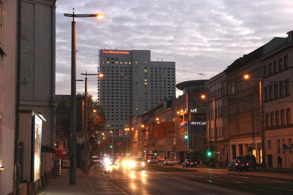 Das Leipziger Hotel Westin: am 5. Oktober unter Antisemitismus-Verdacht geraten. Foto: LZ
