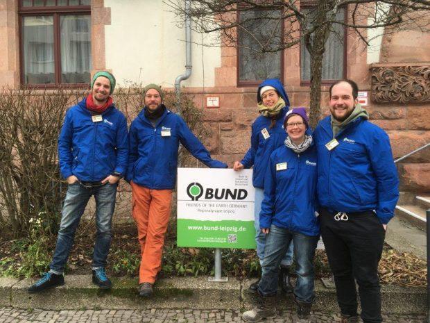 Foto: BUND Leipzig, Benedikt J., Volker G., Ariane G., Teena I., René Q.