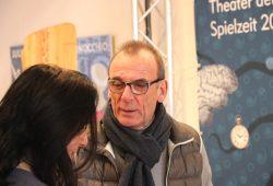 TdjW-Intendant Jürgen Zielinski: in einer wachsenden Stadt kann sein Theater nicht mitwachsen. Foto: Michael Freitag
