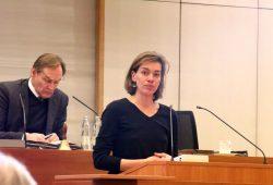 Juliane Nagel (Linke) will rechte Verlage zur Buchmesse verhindern. Foto: L-IZ.de