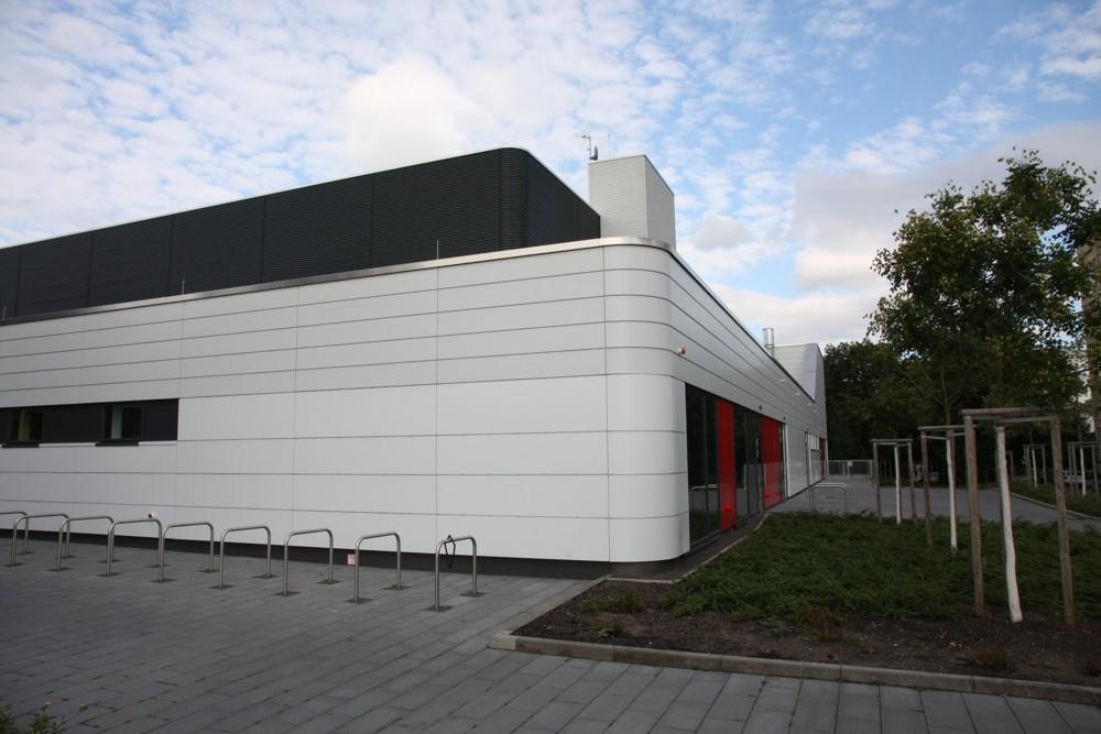 Sporthalle Brüderstraße. Foto: LZ