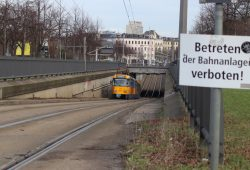 Straßenbahntunnel an der Jahnallee. Foto: L-IZ.de