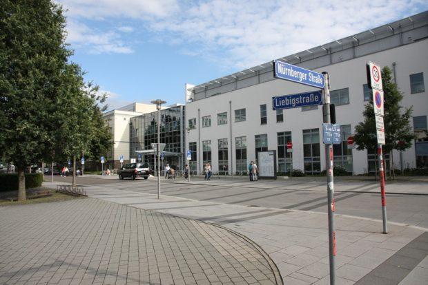 Uniklinikum Leipzg an der Liebig- Ecke Nürnberger Straße. Foto: L-IZ.de