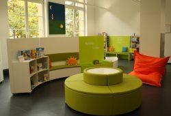 Blick in die Kinderabteilung der Stadtbibliothek. Foto: Ralf Julke