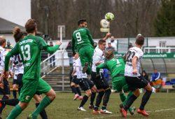 BSG Chemie gg. Budissa Bautzen; Alfred-Kunze-Sportpark, 11.02.2018. Foto: BSG Chemie Leipzig/Christian Donner