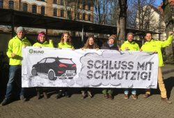 BUND lädt ein zum Protest: Schluss mit schmutzig. Foto: BUND Leipzig