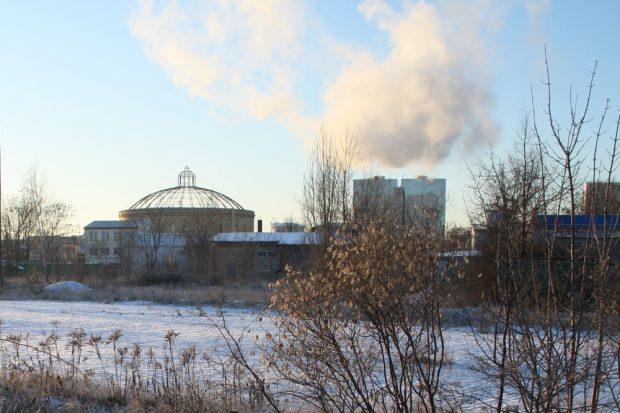 Das Gaskraftwerk der Stadtwerke Leipzig bei der Arbeit. Foto: Ralf