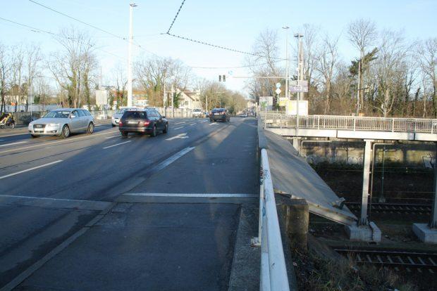 Georg-Schwarz-Brücke im heutigen Zustand. Foto: Ralf Julke