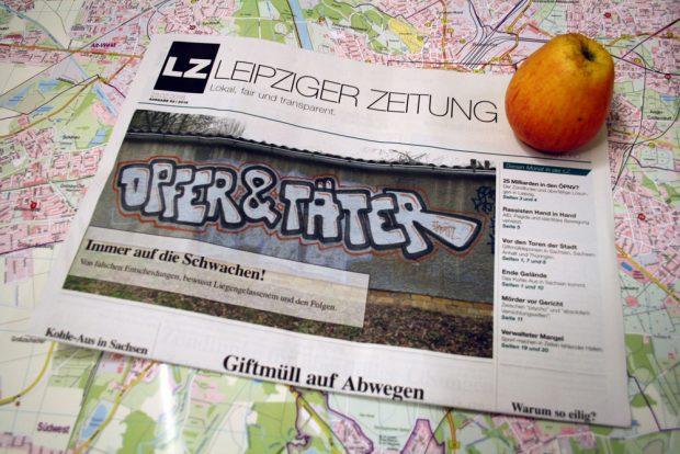 Leipziger Zeitung Nr. 52. Foto: Ralf Julke