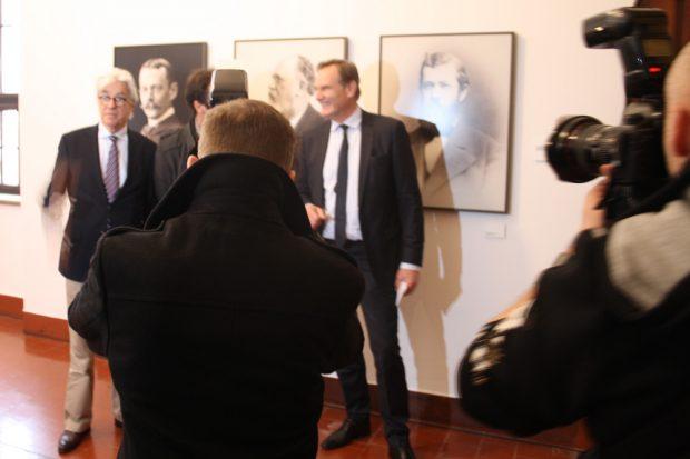 Eröffnung der OBM-Galerie am 2. Februar. Foto: Ralf Julke