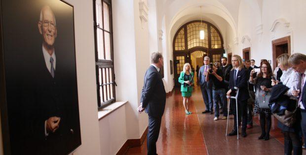 Eröffnung der OBM-Galerie im Neuen Rathaus. Foto: Ralf Julke