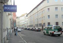 Polizeirevier in Plagwitz. Foto: Marko Hofmann