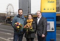 v.l.n.r.: André Winkler, Meret Sophie Noll und Dominik Betz Foto: LVB