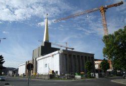 Der Sowjetische Pavillon wird gerade zum Stadtarchiv umgebaut. Foto: Ralf Julke