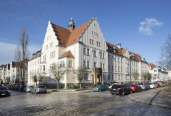 Die Medizinische Berufsfachschule am UKL in der Leipziger Richterstraße öffnet ihre Türen am 10. März. Foto: Stefan Straube / UKL