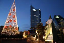 Weihnachtsmarkt auf dem Augustusplatz. Foto: Ralf Julke