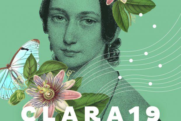 "Das Kampagnenmotiv zu ""Clara19"". Foto: Stadt Leipzig"