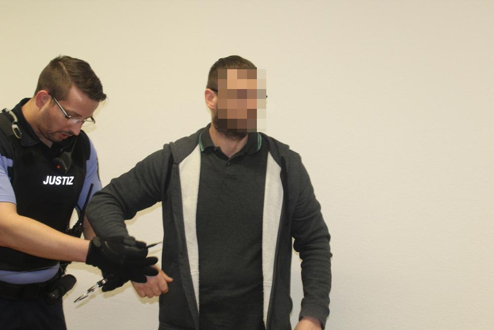 Kenneth E. (43) soll einen jungen Syrer niedergeschossen haben. Foto: Franz-Arthur Böhme