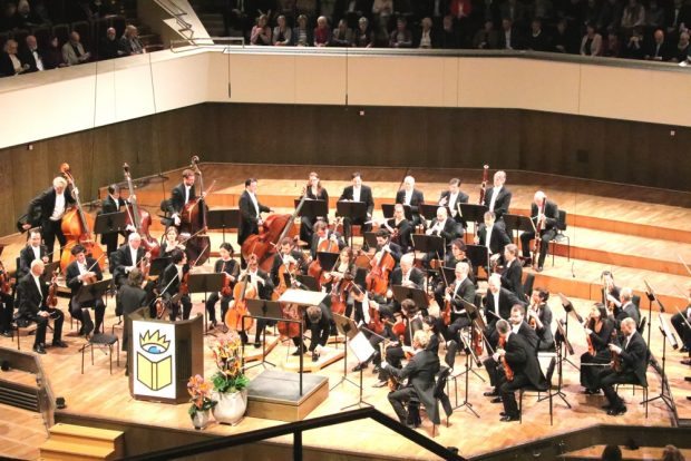 Mozart zum Auftakt der Buchmesse Leipzig. Foto: L-IZ.de