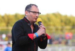"""Lok-Präsident Thomas Löwe: """"Den Einzug in die 3. Liga können wir nur als Einheit schaffen!"""". Foto: Jan Kaefer"""