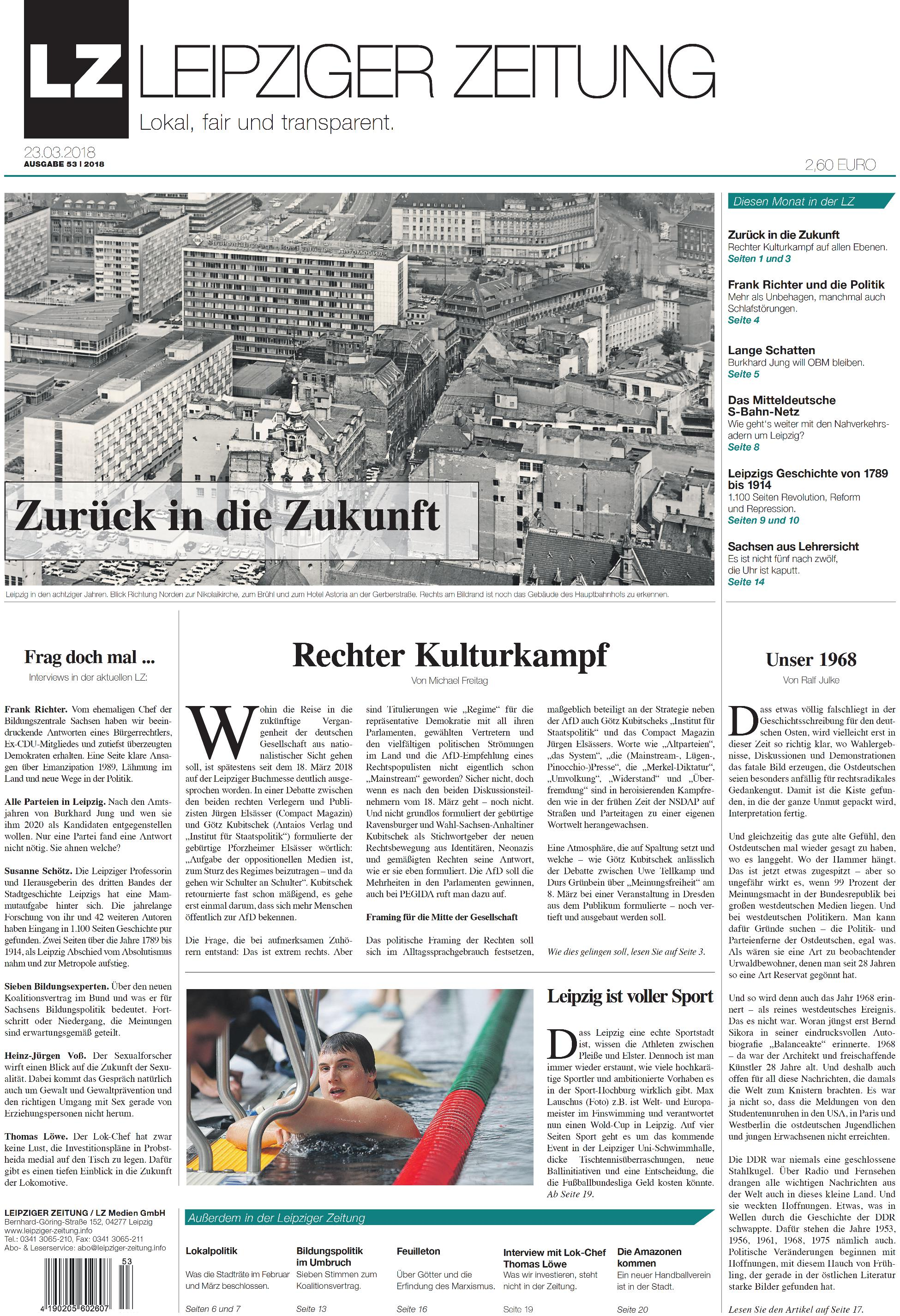 Leipziger Internet Zeitung: Die LEIPZIGER ZEITUNG Nr. 53 vom März ...