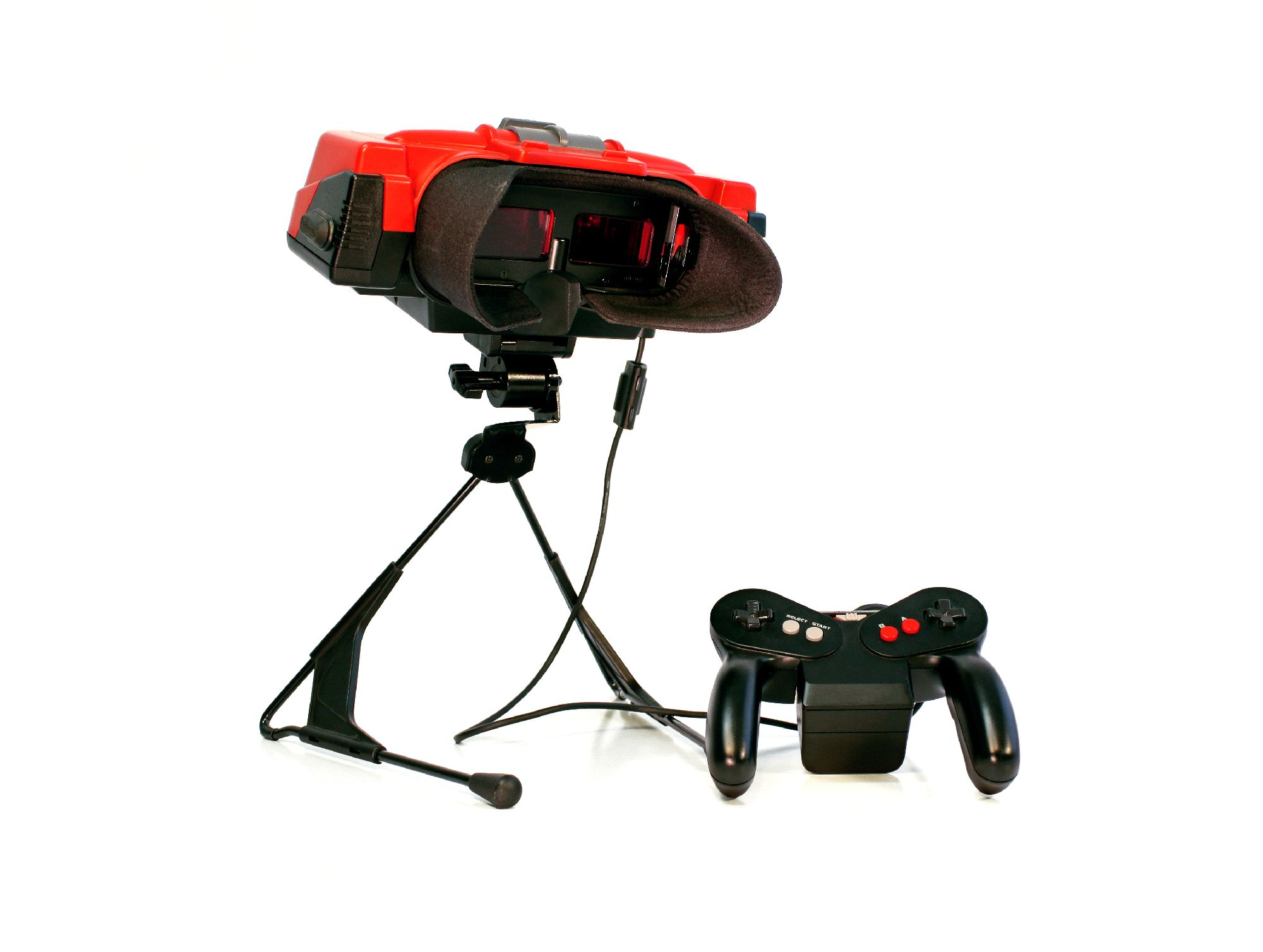 Nintendo Virtual Boy. Foto: Sebastian Bach