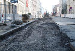 Straßenausbau - hier in der Braustraße. Archivfoto: Ralf Julke