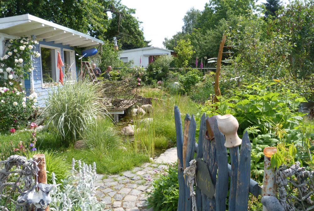 Naturnahes Kleingärtnern in der Kleingartenanlage