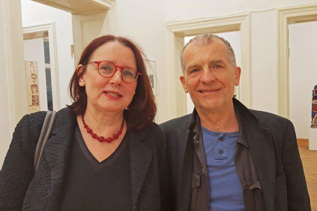 Anette Simon und Jan Faktir. Foto: Elia van Scirouvsky