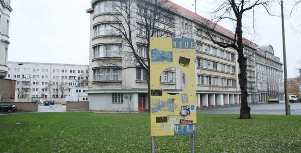 Alter Verlauf des Pleißemühlgrabens an der Hauptfeuerwache. Foto: Ralf Julke