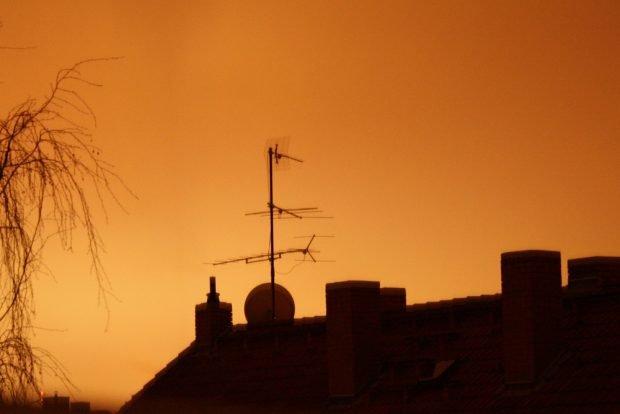 Was vom Sternenhimmel übrig blieb ... Foto: Ralf Julke