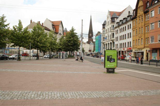Der Lindenauer Markt. Foto: Ralf Julke